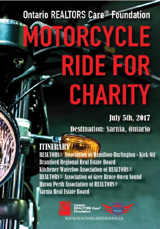 Motorcycle RIDE for Charity