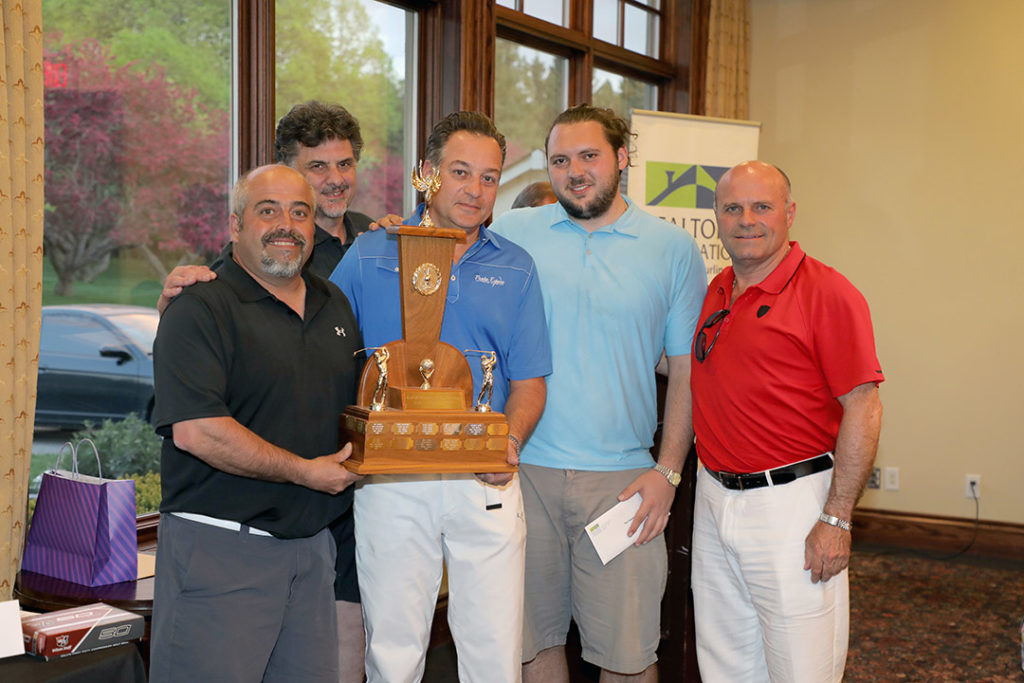 RAHB Charity Golf Tournament Top Foursome