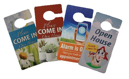 Door Hangers Realty Shoppe