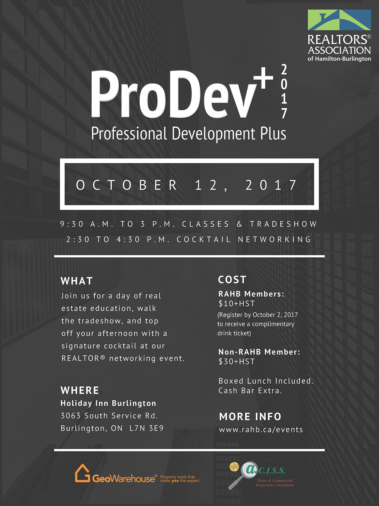 ProDev+ Save the date