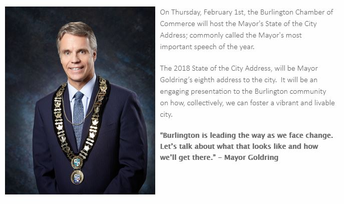 Burlington Mayor State of the City Address