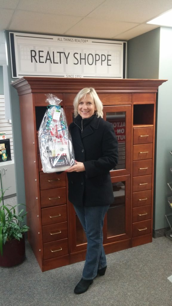 Realty Shoppe Gift Basket Winner