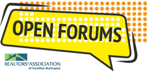 RAHB Open Forums
